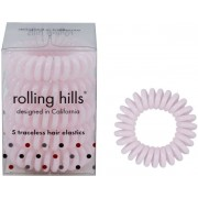Rolling Hills Professional Hair Rings Light Pink Haargummi