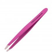 Tweezerman Brows Slant mini pinzette Neon rosa