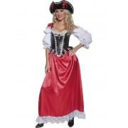 Costum Halloween Adulti Femei pirat autentic