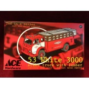 Ace Hardware 53 White 3000 Stake Truck With Lumber 1:34 Scale Die Cast Replica Truck