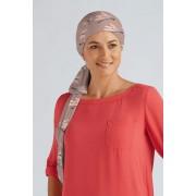 Šátek Camellia Barva: Tmavošedá/tisk