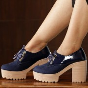Trendy Look Blue Boots