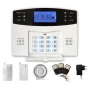 iGET SECURITY M2B - bezdrátový GSM alarm CZ, při poplachu zasílá SMS/t