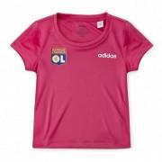 adidas T-shirt Rose adidas enfant - 4-5A OL - Foot Lyon