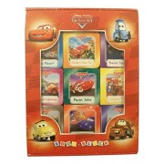 Disney Cars Set of 9 Educational Board Books ~ 9 Racing Adventures Teaching Numbers, Counting, Colors and More