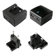 Incarcator priza cu 2 x USB + adaptor UK, 10W/2A, Value 19.99.1061