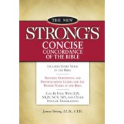 New Strong's Concise Concordance of the Bible, Paperback