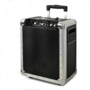 impianto DJ PA portatile trolley USB SD MP3 batteria