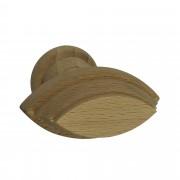 Knop Indy hout beuken 53 mm