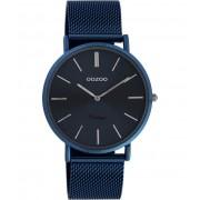OOZOO Timepieces Horloge Vintage Blauw C20003