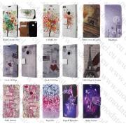 Huawei Ascend P8 Lite 2017 / P9 Lite 2017 / Honor 8 Lite (калъф кожен) 'Book Color style'