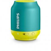 Bežični zvučnik 1.0 Philips BT25A/00, Bluetooth 2W, 38mm, Plava/žuta