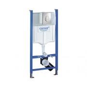 Set rezervor WC incastrat Grohe Rapid SL cu cadru de instalare, pentru gips-carton, 3-9 l, 50x112 cm, incl. clapeta de actionare Skate air