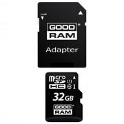 Goodram Memory Card M1aa Microsd Hc 32 Gb + Adattatore Sd Classe 10 /