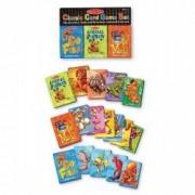 Carti de joc clasice in limba engleza Melissa and Doug