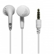 Auricular Universal Manos Libres Motorola Microfono Boton - Blanco