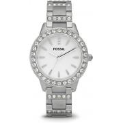 Fossil ES2362 - Horloge - 36 mm - Staal - Zilverkleurig