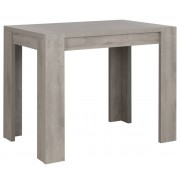 Gamillo Furniture Bartafel Boston 120 cm breed in licht grijs eiken