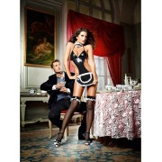 Baci Lingerie Baci: At Your Service, French Maid Set, One Size