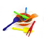 Gardening Tools for Kids - 6 Pc Miniature Toddler / Children Toys Garden Tool Set for Vegetable, Flowers, Lawn or Indoors by NimNik
