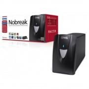 Nobreak SMS 27286 NET4+ 1400 Entrada 115V e Saída 115V 5 Tomadas + Extensão