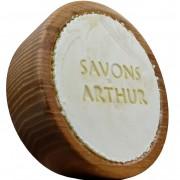 Savons arthur Savon ARTHUR à barbe Bio et son bol en bois d'acacia : Conditionnement - Recharge