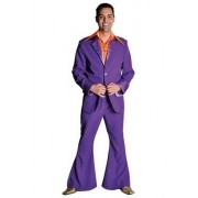 Disco / 70`s kostuum paars
