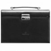 Windrose Merino Caja para joyas joyero 24,5 cm negro