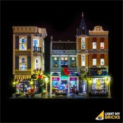 LIGHT MY BRICKS Kit for 10255 Assembly Square