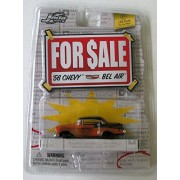 Jada Toys ' For Sale' 1:64 Scale '56 Chevy Bel Air Item No.12063