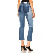 RE/DONE Seamed High Rise in Blue. - size 25 (also in 26,28,29,30,31)