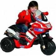 Tricicleta Electrica pentru Copii Peg Perego Ducati Desmosedici Rider VR 6V Rosu