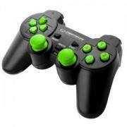 Геймпад ESPERANZA GAMEPAD PC USB WARRIOR Черно-Зелен