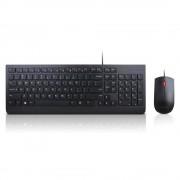 Lenovo 4X30L79883 USB QWERTY US English Black keyboard