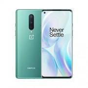 Oneplus 8 Glacial Green, 5G Desbloqueado Android Smartphone versión EE.UU, 8 GB RAM + 128 GB de Almacenamiento, visualización de fluidos de 90 Hz, Triple cámara, con Alexa integrada,