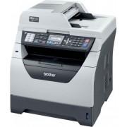 Multifunctional Refurbished laser alb-negru Brother MFC-8380DN, A4, Fax, 30 ppm, Duplex, Retea