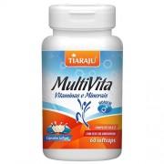 Multivita Homem (Vitaminas e Minerais) 1250 mg 60 Softcaps - Tiaraju