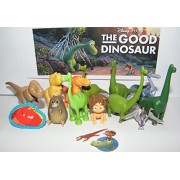 Disney Pixar The Good Dinosaur Movie Deluxe Figure Set of 14 Toy Kit with Figures, Tattoo Sheet, ToyRing Featuring...