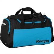 Kempa Sporttasche TEAMLINE - schwarz/kempablau | L