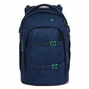 Satch pack Mochila per la escuela 45 cm dark blue green