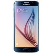 "Telefon Mobil Samsung Galaxy S6, Procesor Octa Core 1.5GHz / 2.1GHz, Super AMOLED capacitive touchscreen 5.1"", 3GB RAM, 128GB Flash, 16MP, Wi-Fi, 4G, Android (Negru) + Cartela SIM Orange PrePay, 6 euro credit, 4 GB internet 4G, 2,000 minute nationale si i"