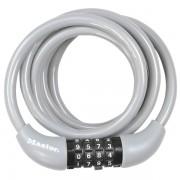 Spirálový kombinační zámek na kolo Master Lock 8221EURDPROCOL - 1,8m - šedý