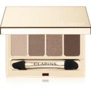 Clarins 4-Colour Eyeshadow Palette paleta de sombras de ojos tono 03 Brown 6,9 g