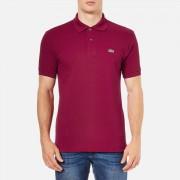 Lacoste Men's Polo Shirt - Bordeaux - 6/XL - Red
