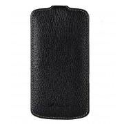 Melkco Smartphone covers Leather Case Galaxy Nexus Prime Zwart