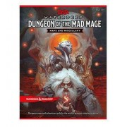 Wizards of the Coast Dungeons & Dragons RPG Waterdeep: Dungeon of the Mad Mage - Maps & Miscellany english