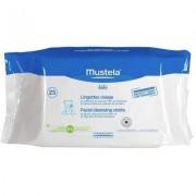 Servetele de curatare pentru fata +0 luni Mustela, 25 bucati