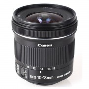 Canon Objetivo EF-S 10-18mm f/4.5-5.6 IS STM