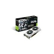 Placa De Vídeo Asus Geforce Gtx 1060 Dual-Gtx1060-O3g, 3gb, Gddr5, 192 Bits