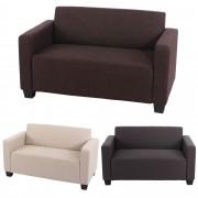 2er Sofa Couch Lyon Loungesofa Textil ~ Variantenangebot